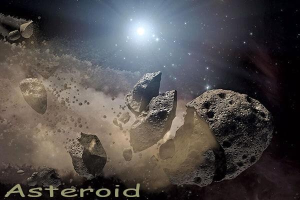 Asteroid Benda Luar Angkasa