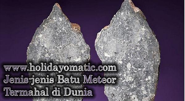 Jenis-jenis Batu Meteor Termahal di Dunia